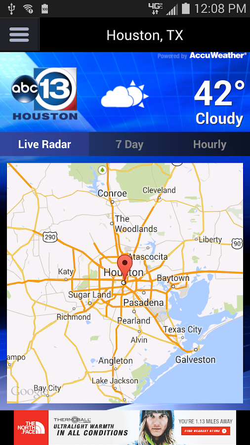 ABC13 Houston Weather- screenshot