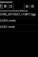 Screenshot of ffmpeg codec arm v7 neon