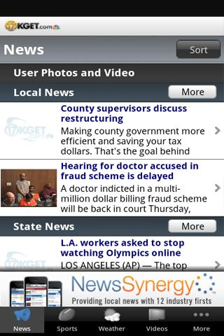 KGET 17 News - screenshot