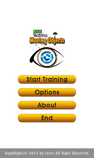 Eye Training - Moving Objects