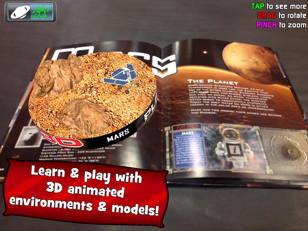 Popar Planets 3D Book - screenshot