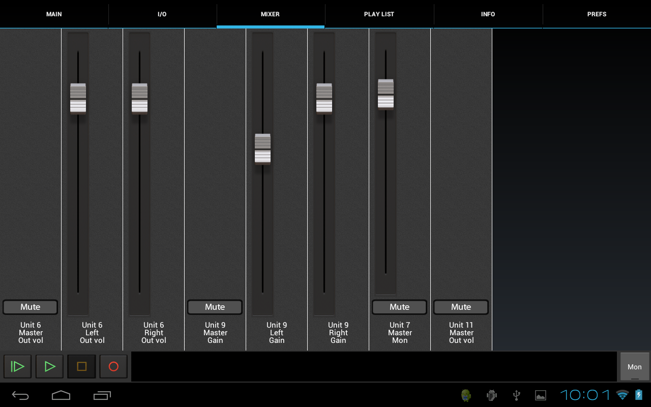USB Audio Recorder PRO- screenshot