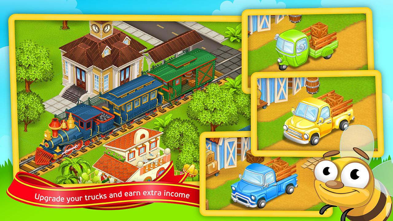 Farm Town 2™: Hay New Farm Day Screenshot