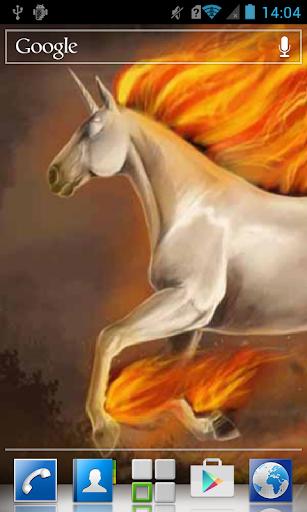 玩個人化App|Horse with fiery mane LWP免費|APP試玩