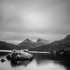 Cradle Mountain by Jane Chen - Black & White Landscapes
