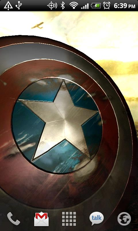 Captain America Live Wallpaper - screenshot