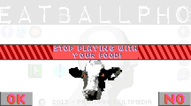 Meatballphobia - screenshot
