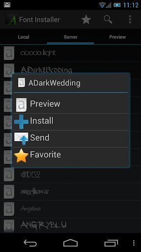 Font Installer ? Root ?