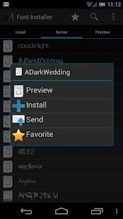 Font Installer ★ Root ★- screenshot thumbnail