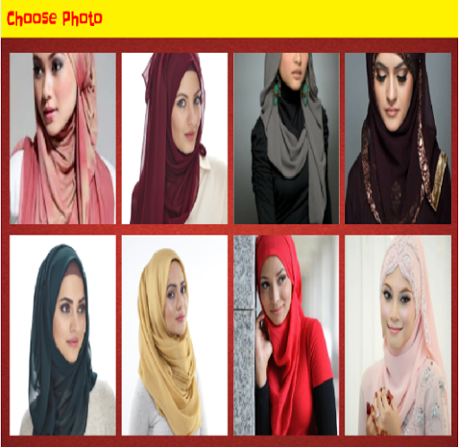 Hijab fashion Puzzle 2015
