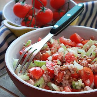 Tuna and Farro Salad.