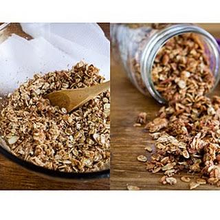 Coconut Cinnamon Granola