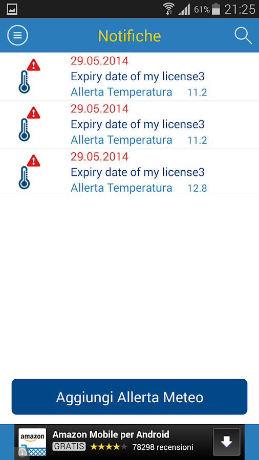 Meteo Life - screenshot