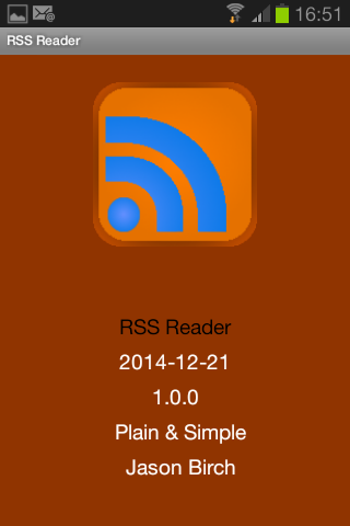RSS Feed Reader - FREE NO ADS