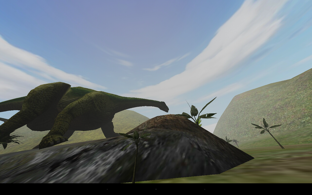VR  Jurassic Land,cardboard- screenshot