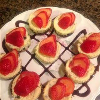 Blanca's Cherry Cheese Tarts