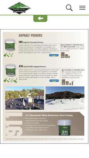 Tropical Roofing Prod Catalog