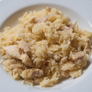 Chicken And Orange Rice Casserole.