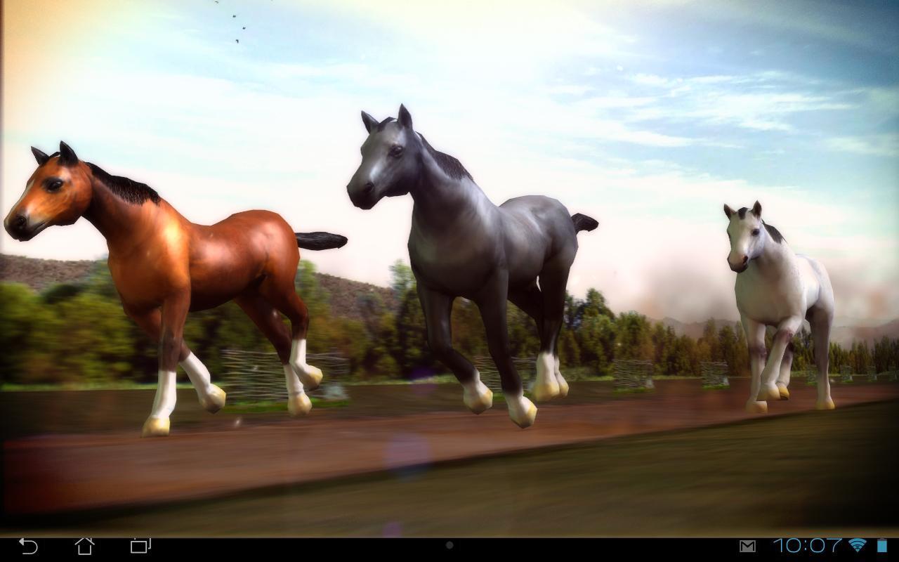 Horses 3D Live ...