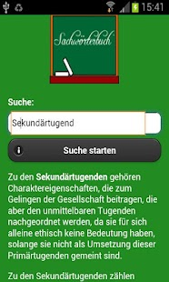 Sachwörterbuch - screenshot thumbnail