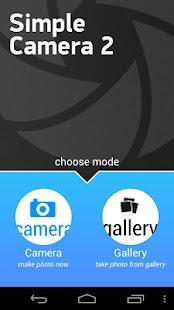 Simple Camera 2 free - screenshot thumbnail