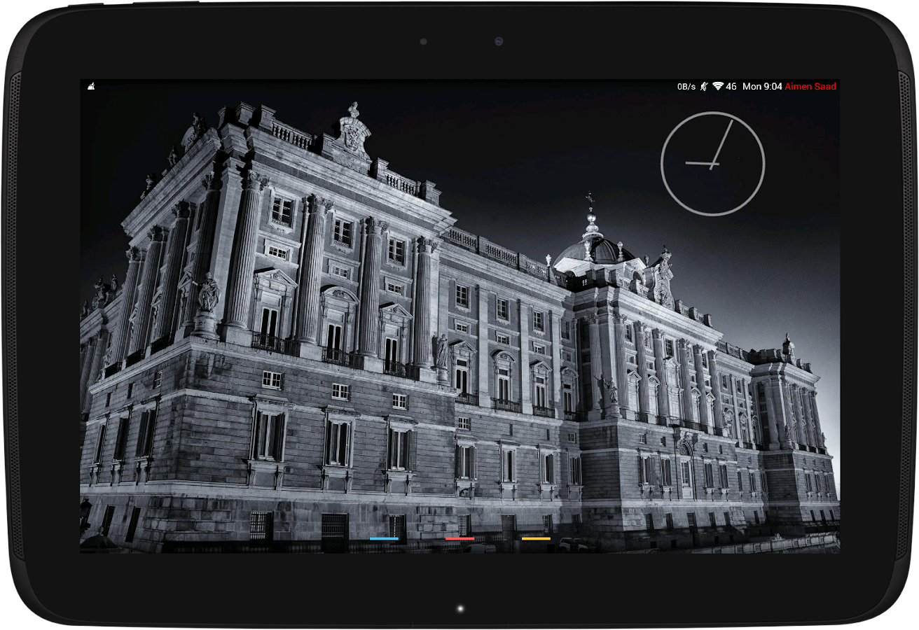 Jelly Bean Clock Widget - screenshot