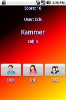 Screenshot of Der-Die-Das