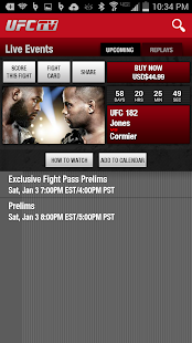 UFC.TV & UFC FIGHT PASS - screenshot thumbnail