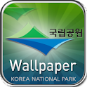Korea National Park Wallpaper logo