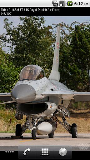 F-16 Live Wallpaper Lite