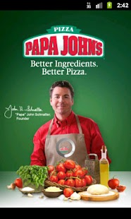 Papa John's Pizza- screenshot thumbnail