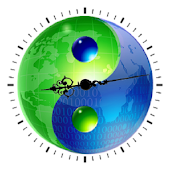 Yin Yang World Clock Widget