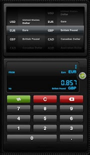 Currency Converter for Tablets - screenshot thumbnail