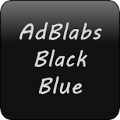 GOWidget Black Blue Theme Pack