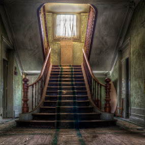 Hotel Stars by Laurentzi Martinez Morilla - Buildings & Architecture Office Buildings & Hotels ( urbex, stairs, hdr, carpet, hotel, abandoned )