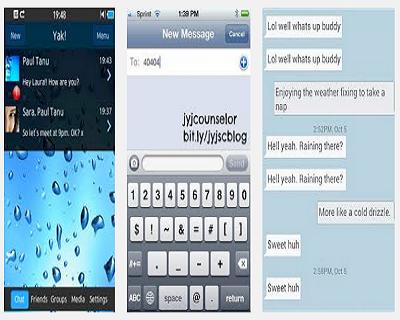 Text messenger