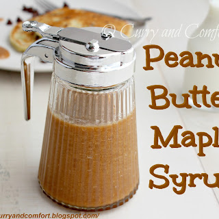 Peanut Butter and Maple Syrup
