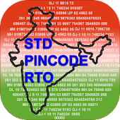 India Codes - (STD,PIN,RTO)