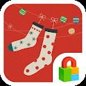 X-Mas Gift Dodol Locker Theme icon