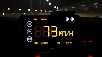 Screenshot of Simple Speedometer HUD2