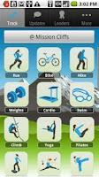 Screenshot of Skimble GPS Sports Tracker