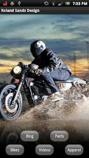 Roland Sands Design- screenshot thumbnail