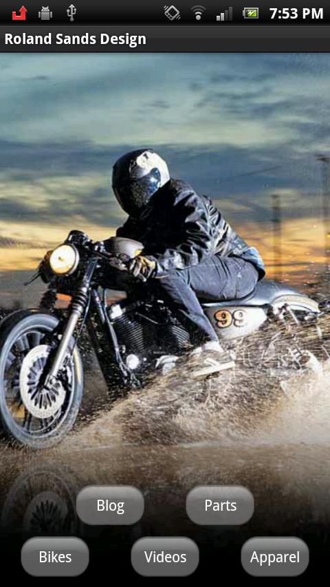 Roland Sands Design- screenshot