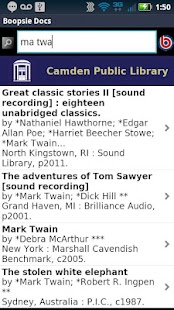 Camden Public Library Mobile- screenshot thumbnail