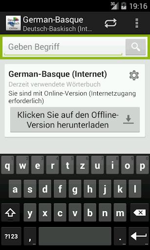 German-Basque Dictionary