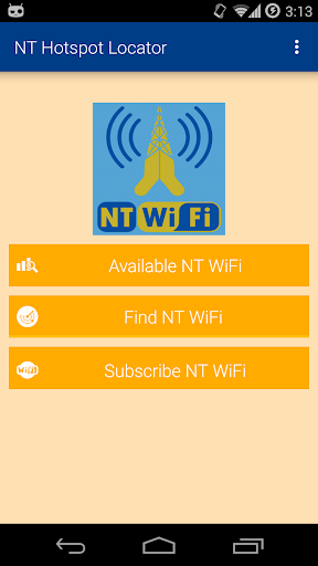 NT Hotspot Locator