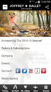 The Joffrey Ballet - screenshot thumbnail