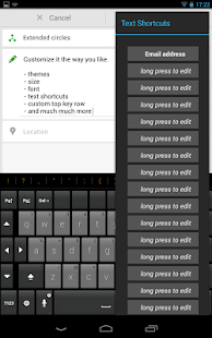 Thumb Keyboard Screenshot 33