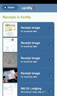 Certify Mobile - náhled
