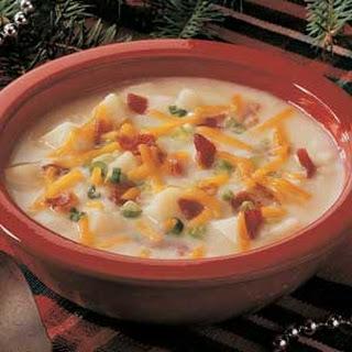 Baked Potato Soup.